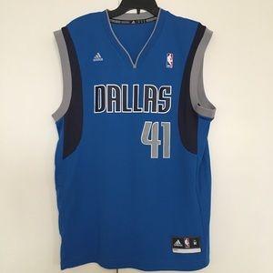 Men's Dallas Mavericks Dirk Nowitzki Jersey